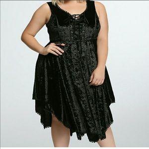 torrid Dresses - Velvet torrid dress